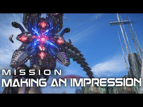 Mass Effect Andromeda: Eos Mission - Making an Impression