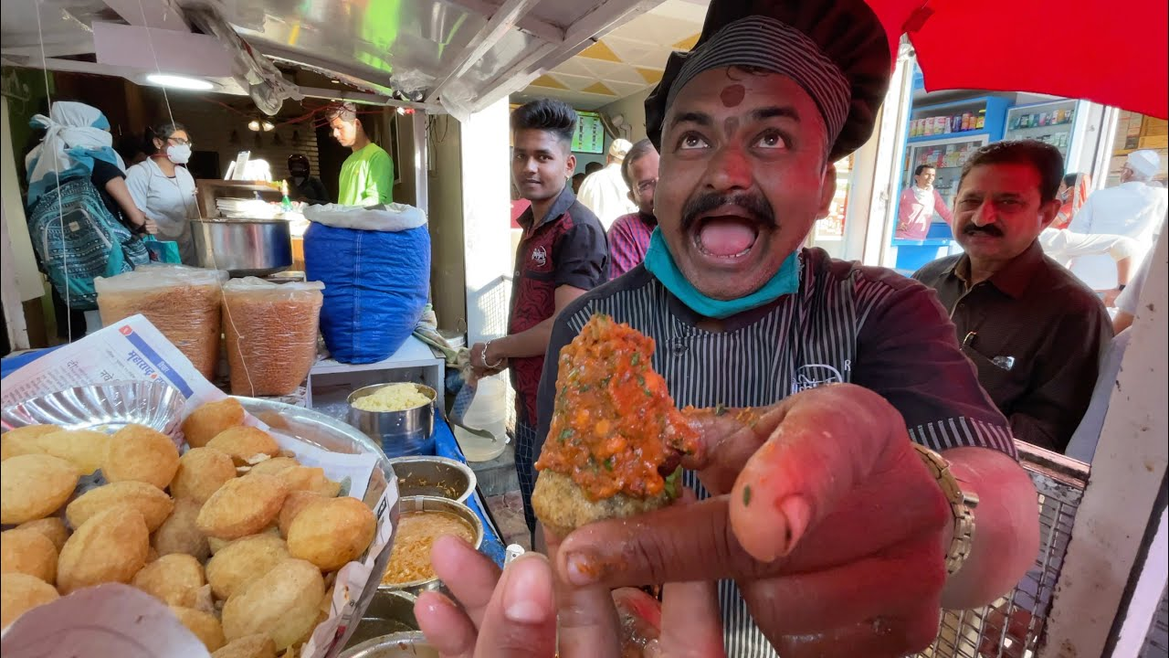Spiciest ZATKA PANI PURI of Nashik | Pani Puri with Stand-up Comedy | Indian Street Food