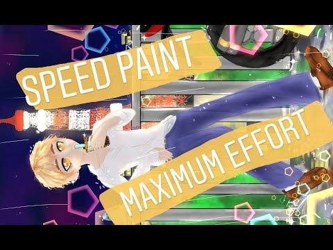 Speed Paint~ I dub thee maximum effort.