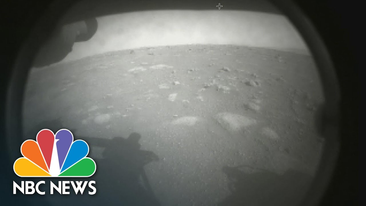 Watch The Moment NASA Mars Rover Perseverance Touches Down | NBC News