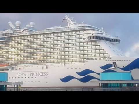 Impresionante Royal Princess en Cartagena