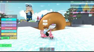 ROBLOX - Donut Factory Tycoon - GLICH INTO VIP ROOM !!