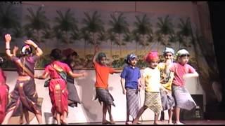 Marathi Folk song  (Koli geet) - VRC Marathi Class Kids