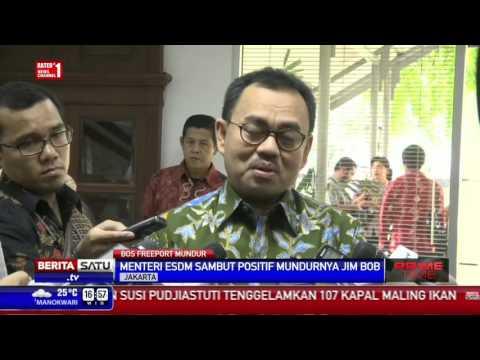 Sudirman Said Sambut Positif Mundurnya Bos Freeport-McMoran