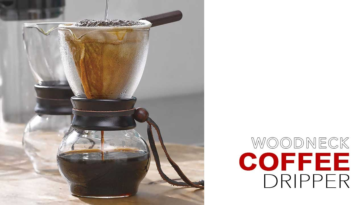 Hario woodneck coffee drip pot - How To Brew With Hario Woodneck Coffee Dripper