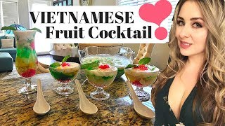 Chè Thái (How to) | Vietnamese Tropical Fruit Cocktail