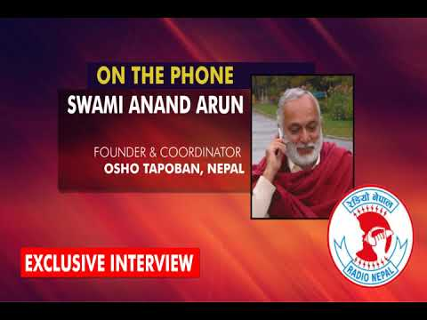 Swami Anand Arun Telephone Interview on Radio Nepal