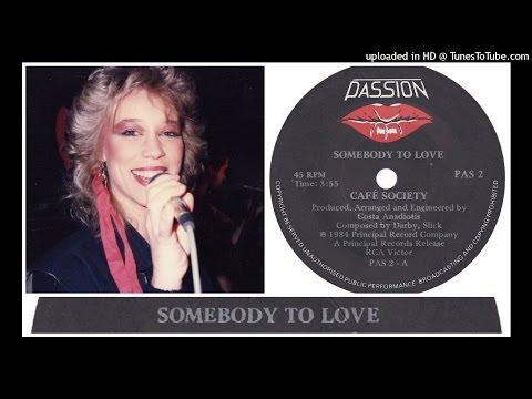 Cafe Society - Somebody To Love (Radio Edit) 1984 Hi-NRG Eurobeat Italo Disco Synth pop Dance 80s
