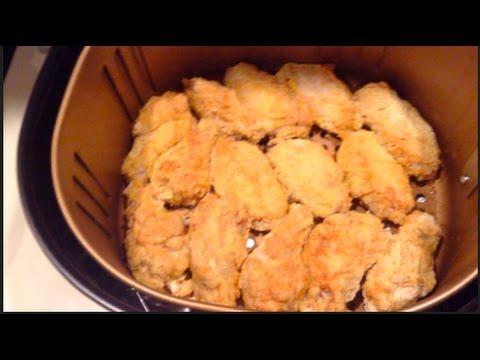 "#322     POWER AIR FRYER XL    ""Air Fried""   Chicken Wings"