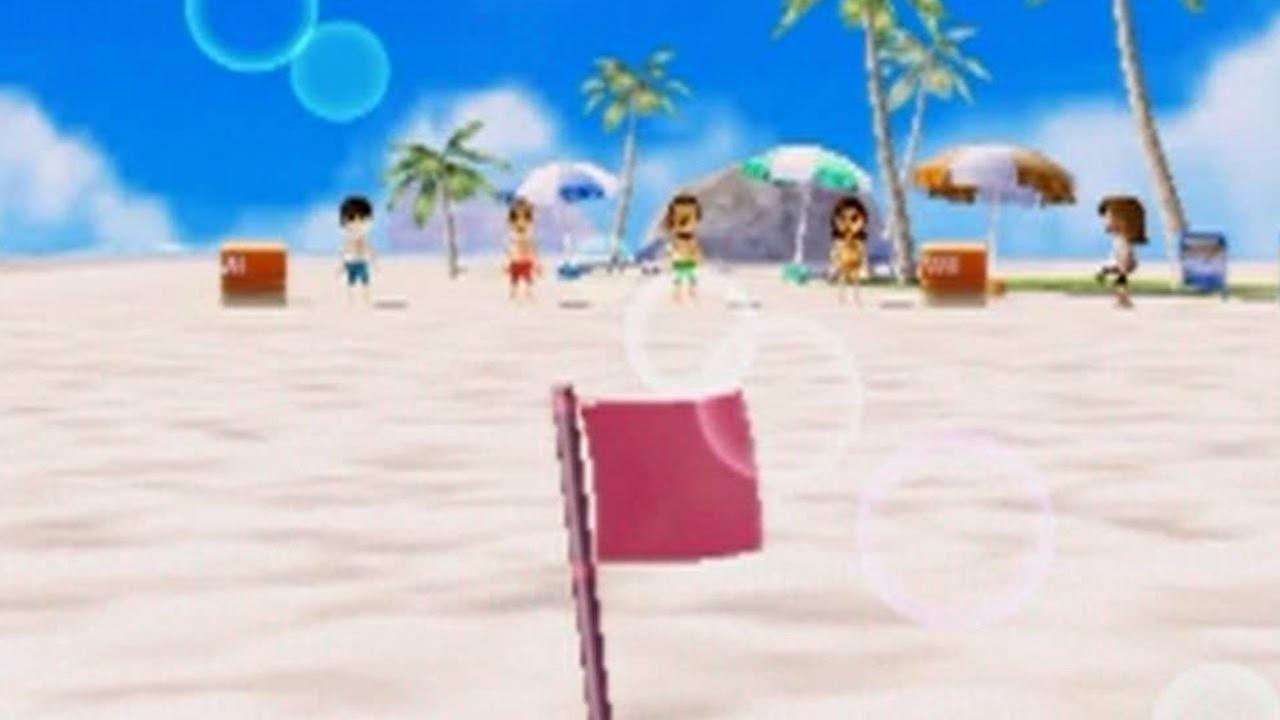 10年前のビーチフラッグゲーム楽しい【ゆっくり実況】【Wii Party】