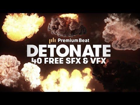 Detonate: 40 Free Explosion VFX and SFX  PremiumBeatcom