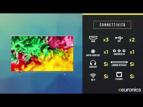Philips | Smart TV LED 4K UHD HDR Ambilight | 43PUS6703