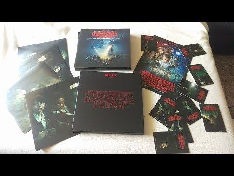 STRANGER THINGS Season 1 SOUNDTRACK Deluxe VINYL Box Set Kyle Dixon & Michael Stein Invada Netflix
