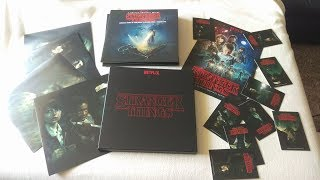 STRANGER THINGS Season 1 SOUNDTRACK Deluxe VINYL Box Set Kyle Dixon & Michael Stein Invada Netflix
