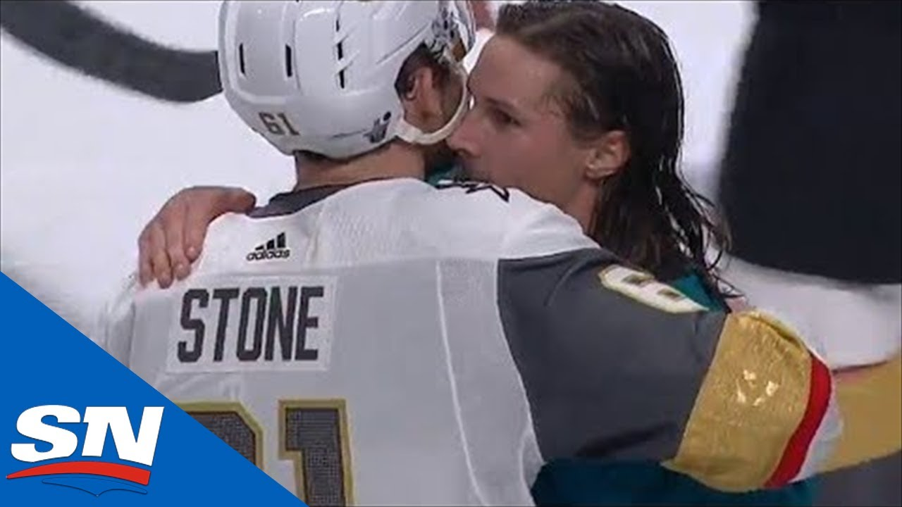 Sharks and Golden Knights Shakes Hands After Wild Game 7