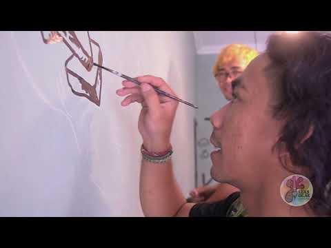 Cara Membuat Gambar Sederhana Di Dinding (KUASGILAK )