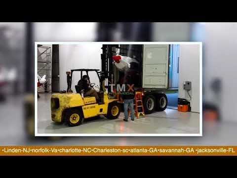 TMX Intermodal Aircraft Transportation - YouTube