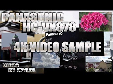 Panasonic HC-VX878 (Raw 4K Video Sample & Zoom Test) Ultra-HD Camcorder, Wireless Twin Camera