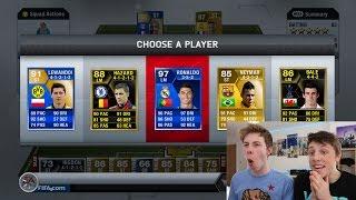 THE FIRST FUT DRAFT EVER!! - RETRO FIFA