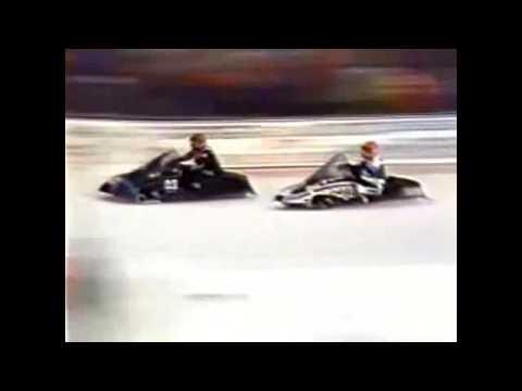 25 th Championnat mondial de motoneige 1988 Eagle River Derby Track