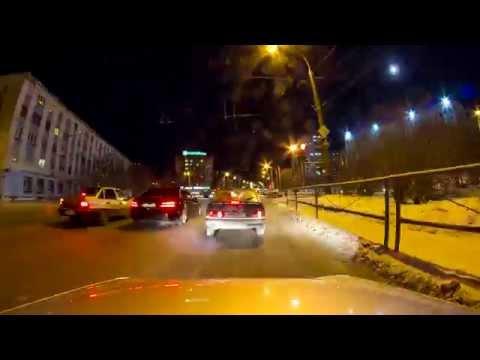 Winter lights // Murmansk