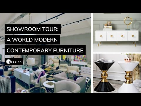 Furniture Showroom Tour  |  Getting Affordable Modern Contemporary and Luxury furniture in Singapore