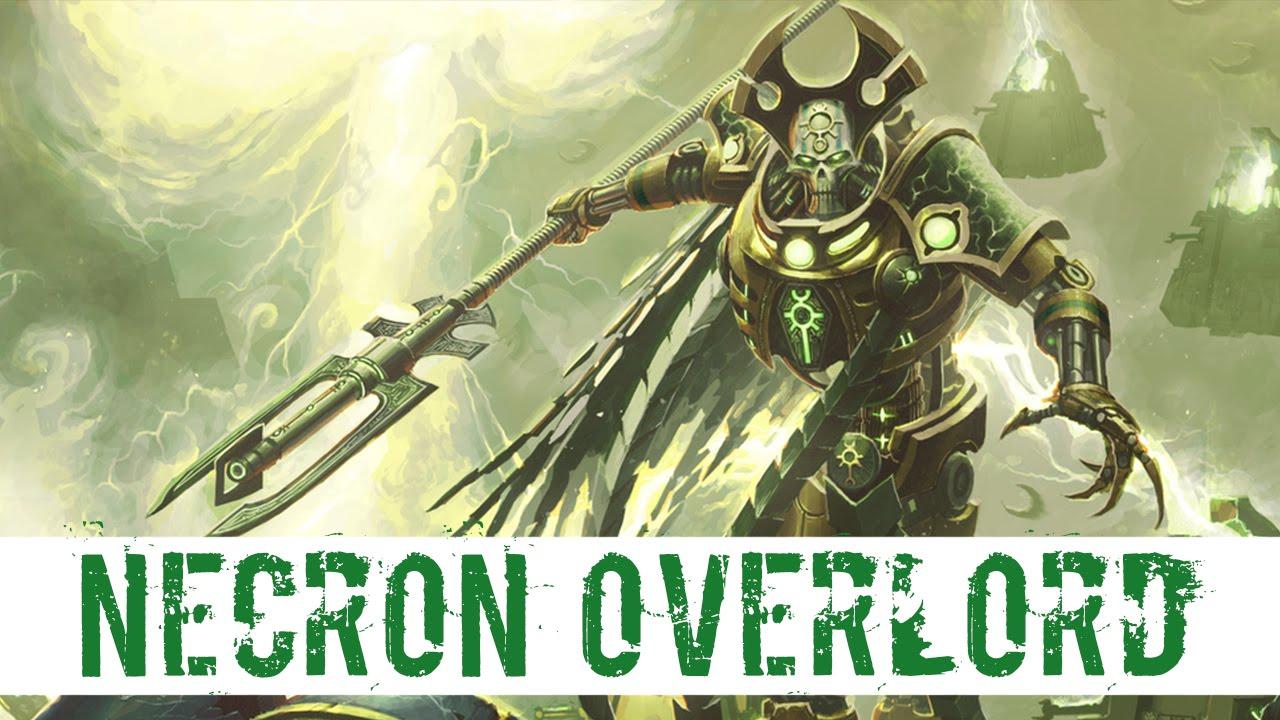 Warhammer 40k NECRONS Necron Overlord