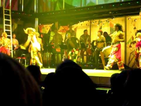 Fela New York City on Broadway(Sahr Ngaujah