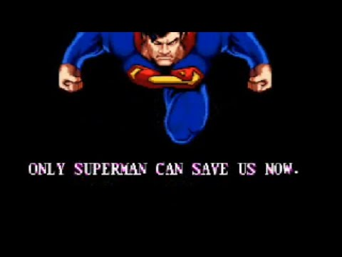 Death and Return of Superman for Sega Genesis
