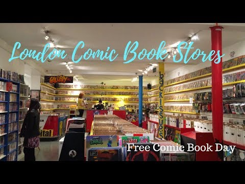 London Comic Book Stores | Free Comic Book Day!