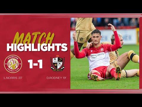 Stevenage Port Vale Goals And Highlights