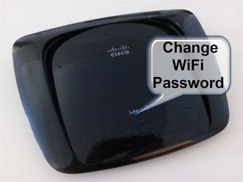 How to change wifi router password linksys