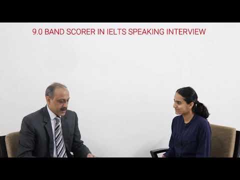 IELTS 9.0 BAND (SPEAKING) SCORER SANJOLI BANERJEE'S INTERVIEW