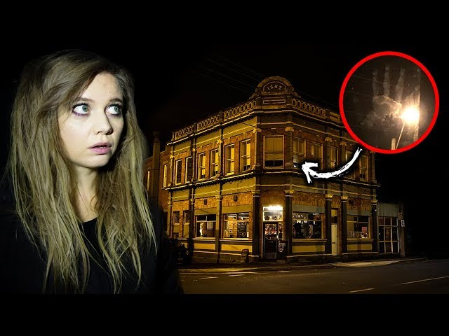 GHOSTS in our room? | Sleeping in the HAUNTED Eastern Station Hotel | Ballarat, Australia