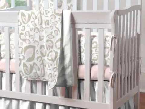 Mini Crib Bedding Set - YouTube