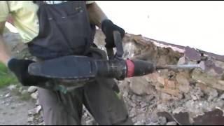Makita HM 1202 C Отбойный молоток Обзор в действии