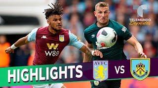Aston Villa Vs. Burnley: 2-2 Goals & Highlights | Premier League | Telemundo Deportes