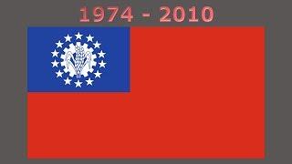 History of the Myanmar flag