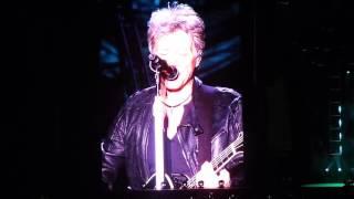 150922 Bon Jovi Live In Seoul - The Radio Saved My Life Tonight