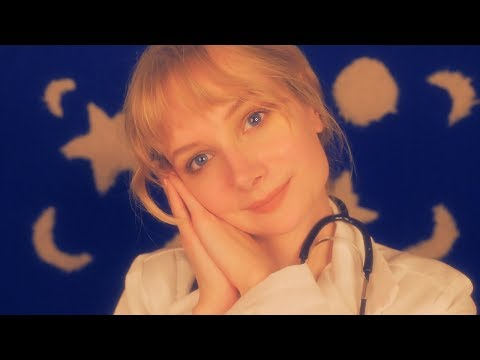 ASMR Sleep Clinic 🌟 Various Triggers, Sleep Doctor Analysis, Role Play, Whispering 🌕