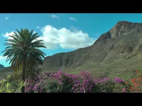 SPAIN beautiful scenery of Gran Canaria (hd-video)