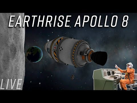 Apollo 8 Christmas Eve Kerbal recreation and 50k subscribers celebration!