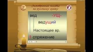 Электронное пособие по русскому языку для 7 класса