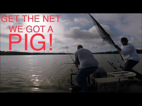 Catfishing Lake Wateree, South Carolina