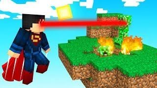 PLAYING as SUPERMAN in Minecraft (Crazy Craft)