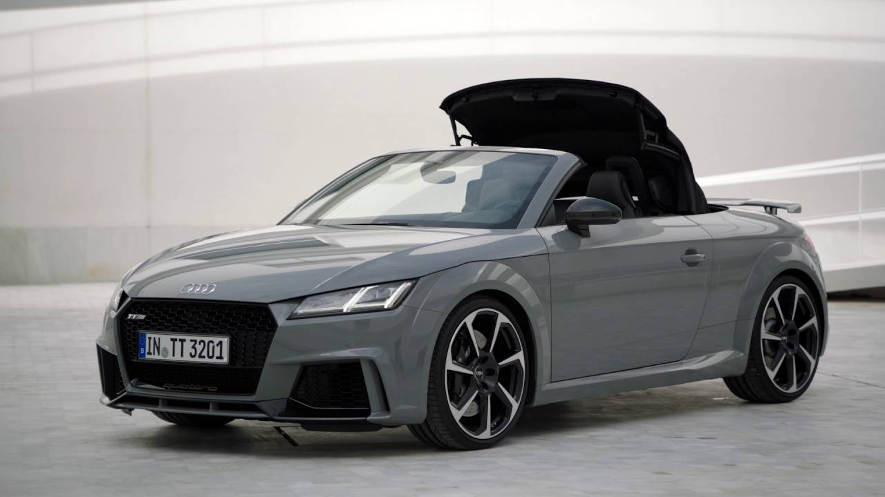 audi tt rs roadster 8s pr sentation compl te youtube. Black Bedroom Furniture Sets. Home Design Ideas