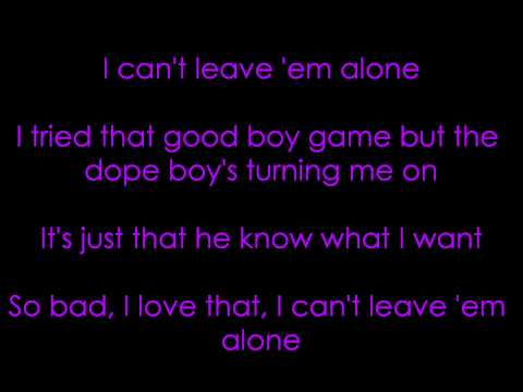 Ciara Feat 50 Cent  Cant Leave Em Alone Lyrics