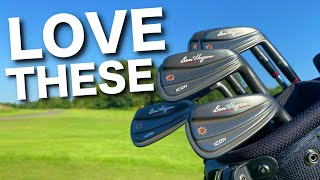 These new irons are AMAZING!