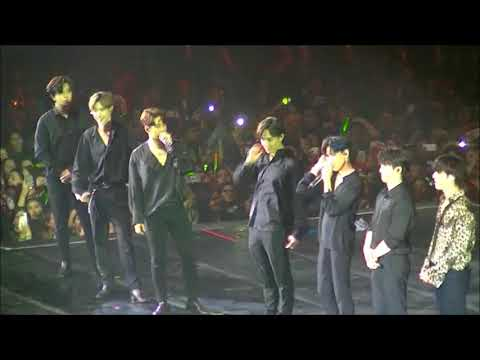 180715 GOT7 EYES ON YOU TOUR In Argentina - TALK + Beggin' On My Knees