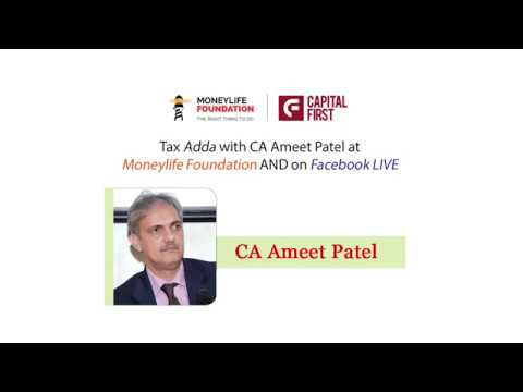 Chartered Accountant (CA) Ameet Patel guiding the participants in Tax Adda at Moneylife Foundation
